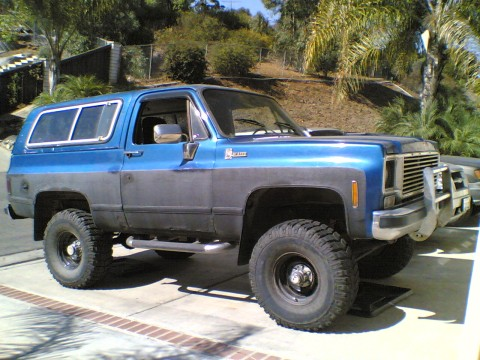 Chevrolet Blazer Parts. 1976 Chevy Blazer 4x4 409bb 4