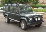2000 Land Rover Defender 110 county station wagon