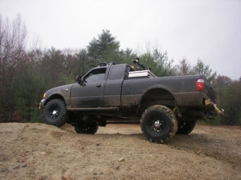 2005 Ford Ranger XLT. I'm the ''recovery truck'' in my town. Biggest truck