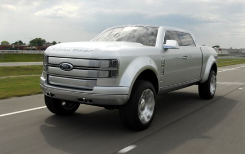 ford f 250 super chief concept a bold american flex fuel pickup that. Cars Review. Best American Auto & Cars Review