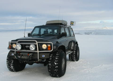 Nissan Patrol 1993 - 44 Inch Modification