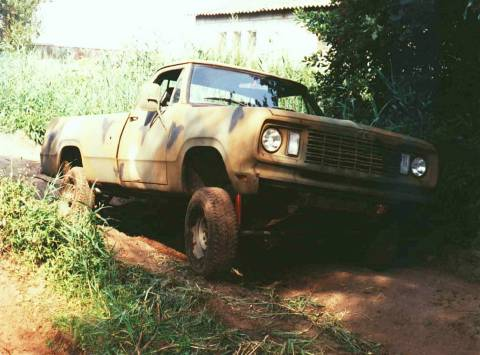 Dodge W200 / M880 1977 Project