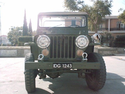 Willys Jeep 1951 - front