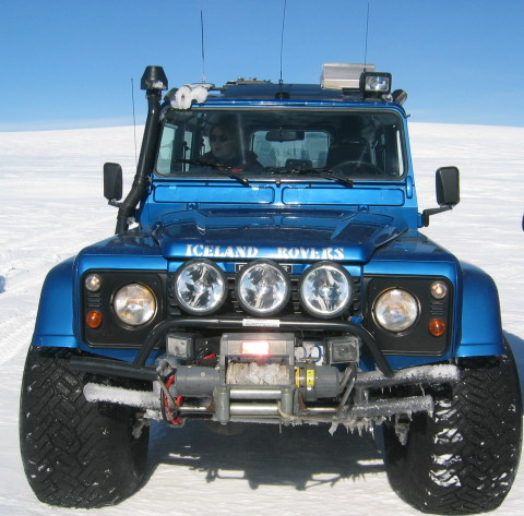 Land Rover Defender - 44 inch tires