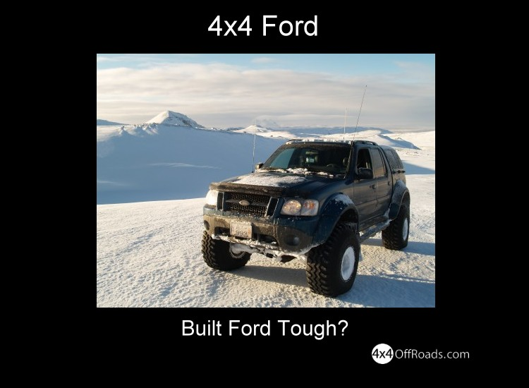 4x4 Ford
