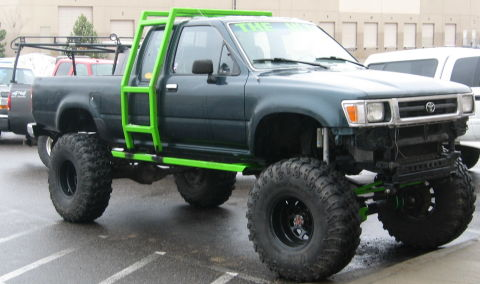 4x4 toyota pick up truck