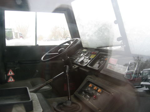 Inside the Pinzgauer