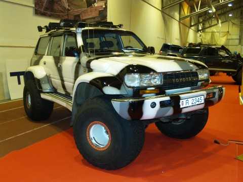 Toyota Land Cruiser Modified 4x4 Toyota Land Cruiser on 44 Inch