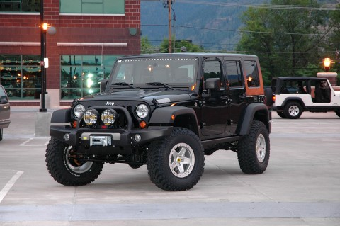 Jeep Wrangler 4 Door Lifted. AEV 4 Door Expedition Package