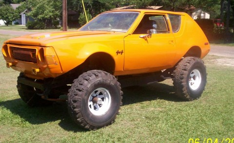 74 Gremlin Body On A Jeep Frame With 360 Motor