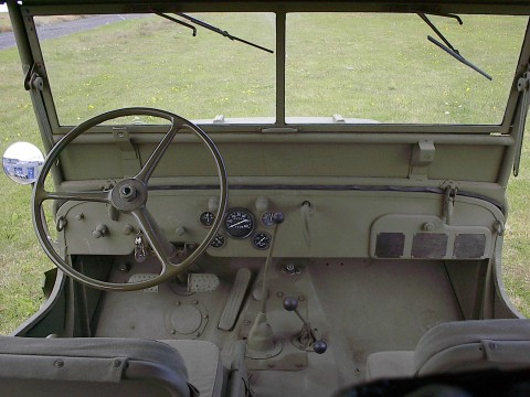 Ford GPW - the dashboard