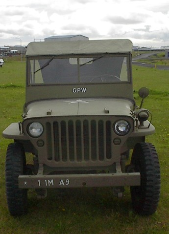 Ford GPW - front