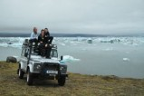 Glacier in Greenhouse - Extreme off-road expedition in a Land Rover