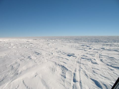 Arrival At the South Pole Station