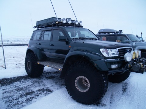 Land Cruiser on 46 inch tires.