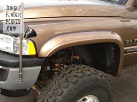 How To Make Fender Flares Out Of Sheet Metal