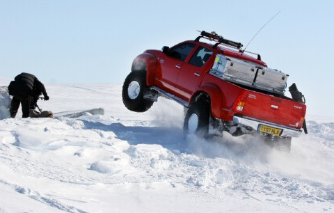 Magnetic North Pole OffRoad