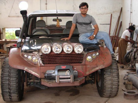 Mahindra Scorpio 4x4 Modified by Kishan Lohiya