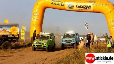 Both Suzuki Jimnys managed to pass up and finish ahead of the Jeeps and many vehicles with more hp.