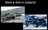 Rent a sweet 4x4 in Iceland!