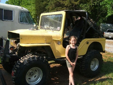 Rick's CJ-3B Jeep Home made