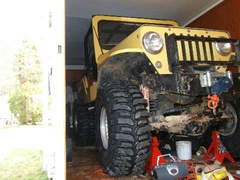 Rick's CJ-3B Jeep Home made 100%