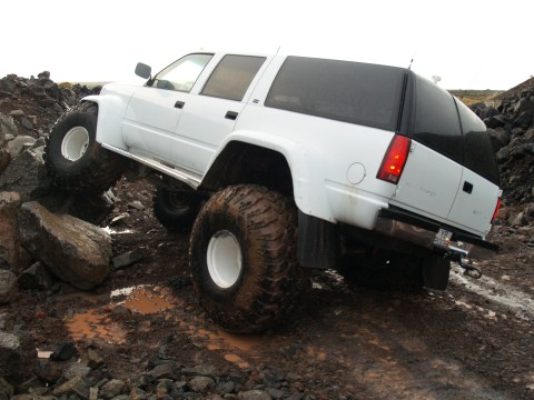 BIG Suburban - 49 Inch Tires and Atlas Gears