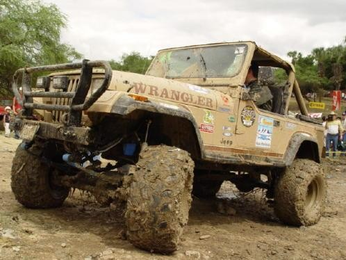 Offroading Competion and Special Areas