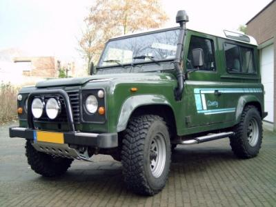 Land Rover Defender 90 TDI 5. Since 1968 I have been building and running