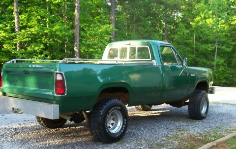 1976 Dodge D200 Power Wagon 4x4
