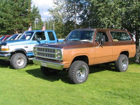 1980 Dodge Ramcharger SE