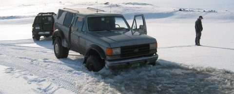 4x4 Ford Iceland