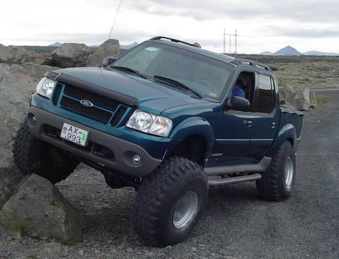 Custom Sport Trac: Testing the Suspension and Steering