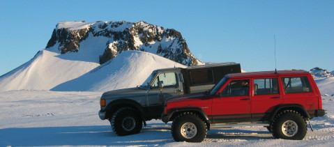 Offroad adventure - Skjaldbreidur- Langjokull January 2004