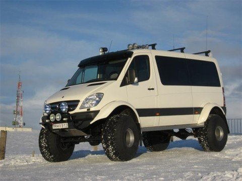 Lifted Sprinter Van in Iceland > 4x4 Off Roads! 4x4 Off Roads