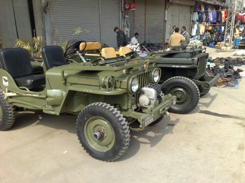 Willys in Pakistan