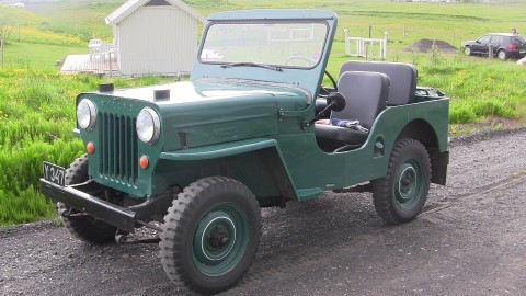 VIDEO: Jeep CJ3B